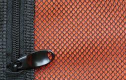 Τσάντα αποθήκευσης φερμουάρ Στοκ Εικόνες