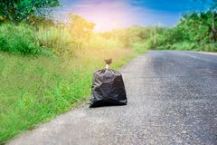 Τσάντα απορριμάτων Στοκ Εικόνες
