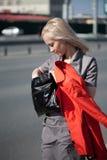 τσάντα αυτή που κοιτάζει &sig Στοκ φωτογραφία με δικαίωμα ελεύθερης χρήσης