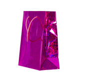 Τσάντα για το όμορφο δώρο Στοκ Εικόνα