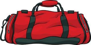 Τσάντα γυμναστικής Στοκ Εικόνες