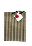 Τσάντα δώρων εγγράφου στοκ φωτογραφία με δικαίωμα ελεύθερης χρήσης