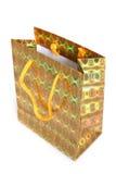 Τσάντα εγγράφου αγορών για τα δώρα Στοκ φωτογραφίες με δικαίωμα ελεύθερης χρήσης