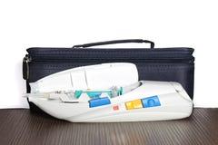 Τσάντα ιατρικής περίθαλψης Στοκ Φωτογραφίες