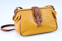 τσάντα κίτρινη Στοκ Εικόνα