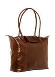 τσάντα καφετιά Στοκ εικόνες με δικαίωμα ελεύθερης χρήσης