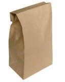 τσάντα καφετιά Στοκ Φωτογραφίες