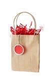 τσάντα καφετιά Στοκ φωτογραφία με δικαίωμα ελεύθερης χρήσης