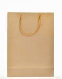 Τσάντα καφετιού εγγράφου Στοκ Εικόνα