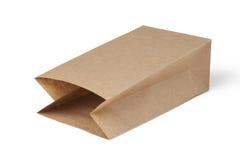 τσάντα καφετιού εγγράφου Στοκ εικόνα με δικαίωμα ελεύθερης χρήσης