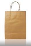 Τσάντα καφετιού εγγράφου Στοκ Φωτογραφίες