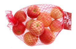 τσάντα μήλων Στοκ εικόνα με δικαίωμα ελεύθερης χρήσης