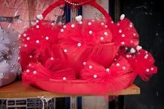 Τσάντα μόδας για την πώληση στο μεγάλο Bazaar στη Ιστανμπούλ Στοκ Εικόνα