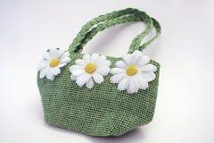 τσάντα πράσινη Στοκ Φωτογραφίες