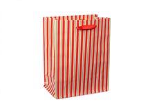 τσάντα ριγωτή Στοκ Φωτογραφία