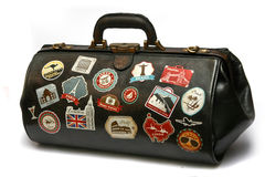 Τσάντα 2 ταξιδιού στοκ φωτογραφίες
