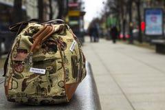 Τσάντα ταξιδιού στοκ εικόνα