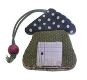 Τσάντα του βασικού προτύπου σπιτιών στοκ φωτογραφία με δικαίωμα ελεύθερης χρήσης