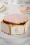 Τσάντα του βερνικωμένου μπισκότου Στοκ Εικόνα
