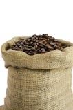 Τσάντα των φασολιών καφέ Στοκ εικόνες με δικαίωμα ελεύθερης χρήσης