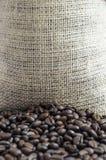 Τσάντα των φασολιών καφέ Στοκ φωτογραφία με δικαίωμα ελεύθερης χρήσης