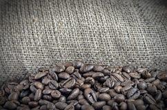 Τσάντα των φασολιών καφέ Στοκ εικόνα με δικαίωμα ελεύθερης χρήσης