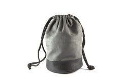 Τσάντα υφασμάτων που απομονώνεται Στοκ Εικόνα