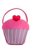 Τσάντα Cupcake Στοκ φωτογραφία με δικαίωμα ελεύθερης χρήσης