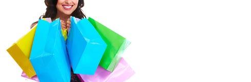 Τσάντες αγορών στοκ εικόνες