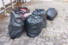 Τσάντες απορριμάτων Στοκ εικόνες με δικαίωμα ελεύθερης χρήσης
