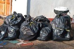 Τσάντες απορριμάτων Στοκ Εικόνες