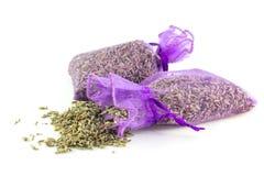 Τσάντες αρωματισμένο Lavender στοκ εικόνα με δικαίωμα ελεύθερης χρήσης