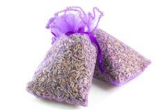Τσάντες αρωματισμένο Lavender στοκ φωτογραφίες