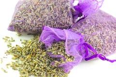 Τσάντες αρωματισμένο Lavender στοκ εικόνα