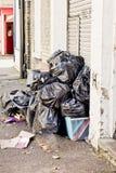 Τσάντες σκουπιδιών στοκ φωτογραφία με δικαίωμα ελεύθερης χρήσης