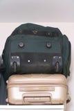 Τσάντες ταξιδιού αποσκευών Στοκ Φωτογραφία