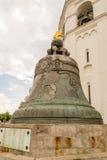 τσάρος του Κρεμλίνου Μόσχα κουδουνιών Στοκ εικόνες με δικαίωμα ελεύθερης χρήσης