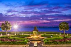 Τσάρλεστον, νότια Καρολίνα, ΗΠΑ Στοκ φωτογραφία με δικαίωμα ελεύθερης χρήσης