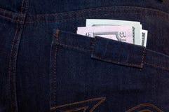 τσέπη δολαρίων Στοκ εικόνα με δικαίωμα ελεύθερης χρήσης