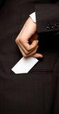 τσέπη επαγγελματικών καρ&t Στοκ εικόνες με δικαίωμα ελεύθερης χρήσης