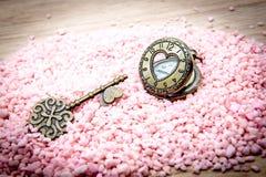 Τσέπη ρολογιών καρδιών Στοκ φωτογραφία με δικαίωμα ελεύθερης χρήσης