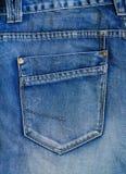 Τσέπη τζιν παντελόνι Στοκ φωτογραφία με δικαίωμα ελεύθερης χρήσης
