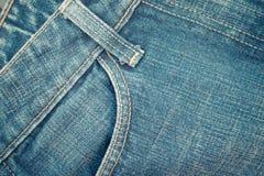 Τσέπη τζιν παντελόνι Στοκ Εικόνες