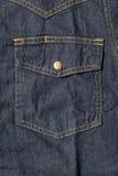 Τσέπη του Jean Στοκ φωτογραφίες με δικαίωμα ελεύθερης χρήσης