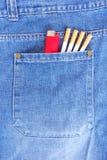 τσέπη τσιγάρων Στοκ Εικόνα