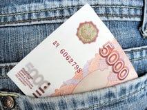 τσέπη χρημάτων σας Στοκ Εικόνα