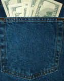 τσέπη χρημάτων Στοκ Φωτογραφία