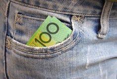 τσέπη χρημάτων Στοκ Φωτογραφίες
