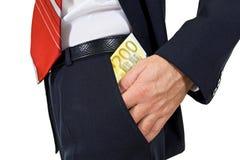 τσέπη χρημάτων INT που τίθεται Στοκ φωτογραφία με δικαίωμα ελεύθερης χρήσης
