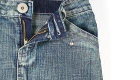 τσέπη Jean κοριτσιών κινηματο&gam Στοκ εικόνα με δικαίωμα ελεύθερης χρήσης